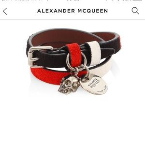 Authentic Alexander McQueen bracelet unisex